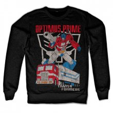 Mikina Transformers Optimus Prime Distressed