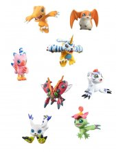 Digimon Adventure Digicolle! Series Trading Figure 5 cm Mix Asso