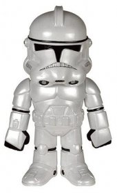 Star Wars Hikari Sofubi Vinyl Action Figure Classic Clone Troope