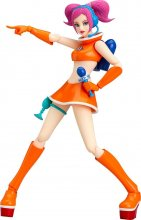 Space Channel 5 Figma Action Figure Ulala Exciting Orange Ver. 1