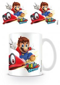 Super Mario Odyssey Mug Cappy Throw