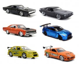 Fast & Furious Diecast Models 1/32 Display C (6)