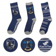 Harry Potter ponožky 3-Pack Ravenclaw
