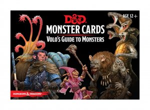 Dungeons & Dragons Monster Cards: Volo's Guide to Monsters *Engl