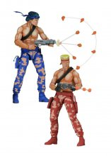 Contra Action Figures 2-Pack Bill & Lance Video Game Appearance
