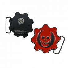Gears of War přezka k opasku Red Skull Logo