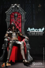 Captain Harlock sběratelská figurka Captain Harlock with Throne