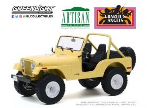Charlie´s Angels kovový model 1/18 1980 Jeep CJ-5