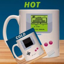 Nintendo Game Boy Heat Change Mug Super Mario Land