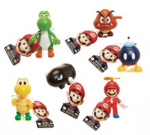 World of Nintendo Super Mario Wind-Up Figures 6 cm Display (12)