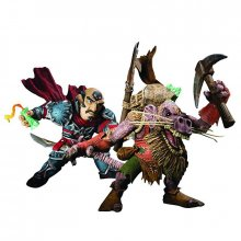 World of Warcraft figurky Brink Spannercrank vs. Kobold Miner