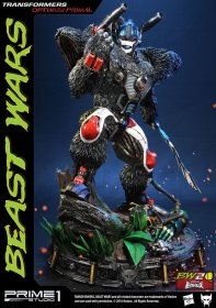 Transformers Beast Wars 1/3 Socha Optimus Primal 63 cm