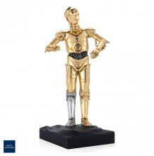 Star Wars Pewter Collectible Socha C-3PO Limited Edition 23 cm