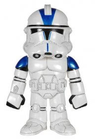 Star Wars Hikari Sofubi Vinyl Action Figure 501st Clone Trooper