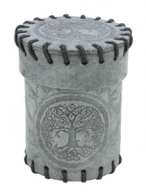 Forest Dice Cup Graphite Suede