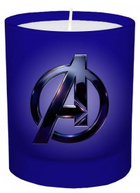 Marvel Glass Candle Avengers 8 x 9 cm