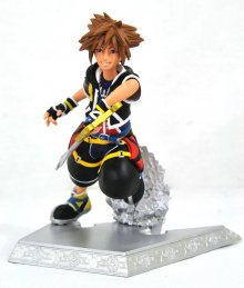 Kingdom Hearts Gallery PVC Socha Sora 18 cm
