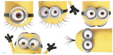 Despicable Me 3 Giant Vinyl Wall Decal Set Peeking Minions