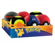 Pokemon Plush Pokeballs 7 cm Display D5 (6)