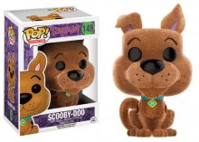 Scooby Doo POP! Animation Vinyl Figure Scooby-Doo (Flocked) 9 cm