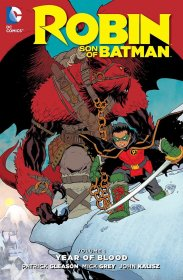 DC Comics Comic Book Robin Son Of Batman Vol. 1 Year Of Blood by