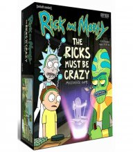Rick and Morty Multiverse Board Game The Ricks Must Be Crazy *En
