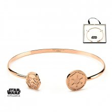 Star Wars Bangle náramek Stormtrooper (rose gold-plated)