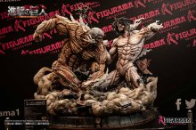 Attack on Titan Elite Exclusive Socha Eren vs Armored Titan 61