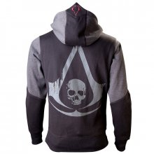 Assassins Creed IV Black Flag mikina Assassin velikost XL