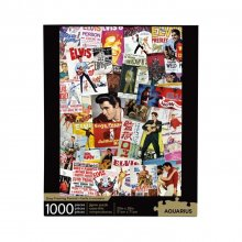 Elvis Presley skládací puzzle Movie Poster Collage (1000 pieces)