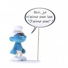 The Smurfs Collectoys Comics Speech Socha Grouchy Smurf 22 cm *