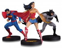 DC Designer Series Socha 3-Pack Trinity by Jim Lee 18 cm
