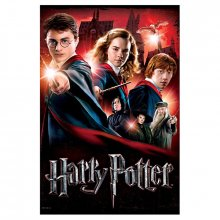 Harry Potter Plakátové Puzzle Bradavice