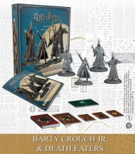 Harry Potter Miniatures 35 mm 4-pack Wizarding Wars Barty Crouch