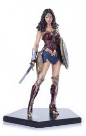 Batman v Superman Dawn of Justice Socha 1/10 Wonder Woman 18 cm