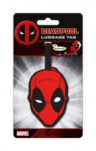 Deadpool Rubber Luggage Tag Head