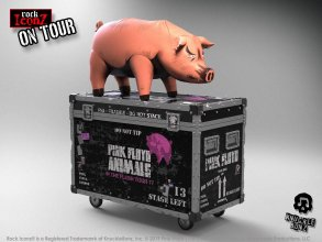 Pink Floyd Rock Ikonz On Tour Statues The Pig