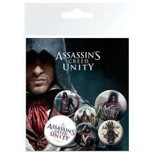 Placky Assassins Creed Unity 6-pack