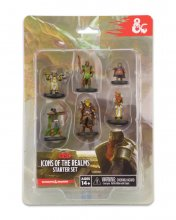 D&D Icons of the Realms Miniatures 6-Pack Starter Set