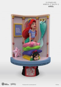 Ralph Breaks the Internet D-Stage PVC Diorama Ariel & Vanellope