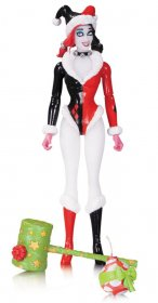 DC Comics Designer Action Figure Holiday Harley Quinn by Amanda