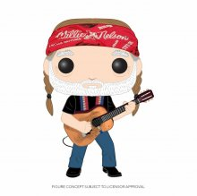 Willie Nelson POP! Rocks Vinylová Figurka Willie Nelson 9 cm