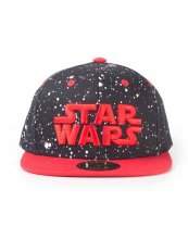 Star Wars Snapback kšiltovka Red Space
