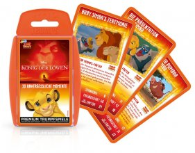 The Lion King karetní hra Top Trumps *German Version*