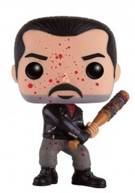 Walking Dead POP! Television Vinylová Figurka Bloody Negan 9 cm
