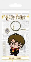Harry Potter Rubber Keychain Chibi Harry 6 cm