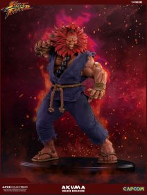 Street Fighter Mixed Media Socha 1/4 Akuma Deluxe Exclusive 45