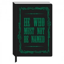 Harry Potter A5 Notebook Voldemort