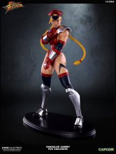 Street Fighter IV Socha 1/4 Shadaloo Cammy PCS Dictator Exclusi