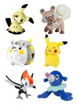 Pokemon Plush Figures 20 cm D19 Display (6)